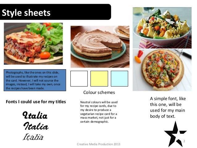 Recipe cards task 7 recipe card task 7 patrick gouldsbrough alan smith 1creative media production 2013 2 forumfinder Images