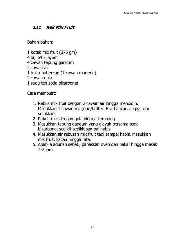 Recipe Collection 14