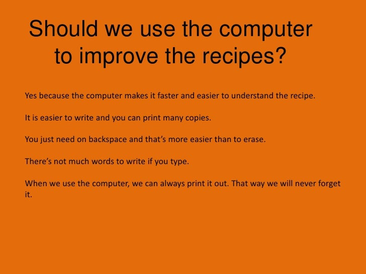 What can do to make our recipes easier to understand?<br />We can add pictures to help Mr. Gillespie understand the recipe...