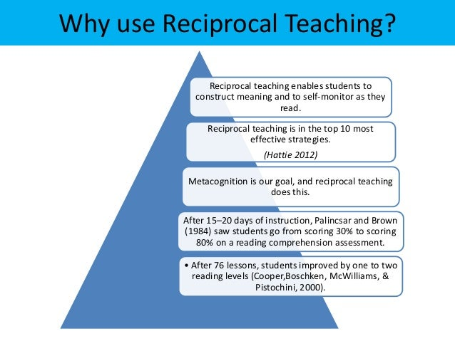 reciprocal reading lessons