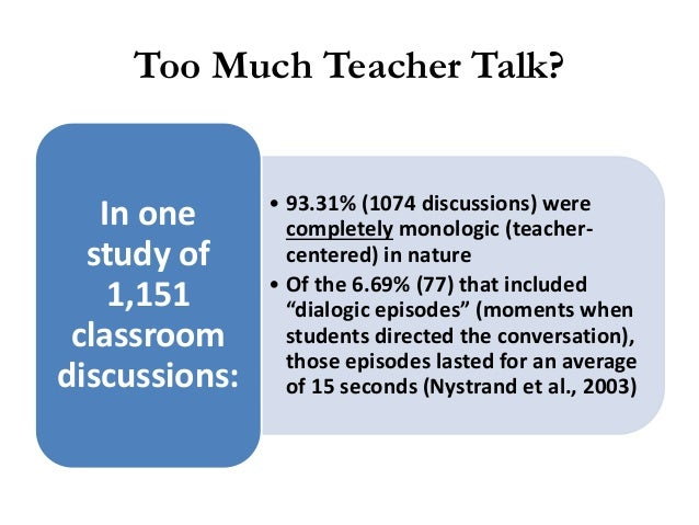 Reciprocal Teaching Reciprocal Teaching is a dialogue between teacher and students using four strategies: Generating Quest...