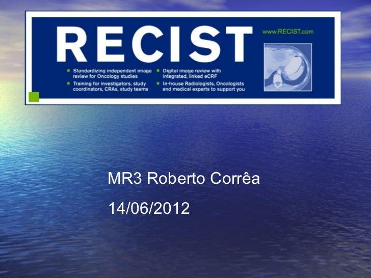 MR3 Roberto Corrêa14/06/2012