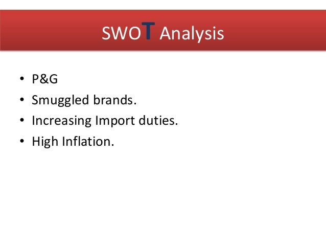 Reckitt benckiser swot analysis
