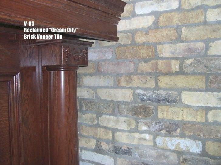 Reclaimed Brick Veneer