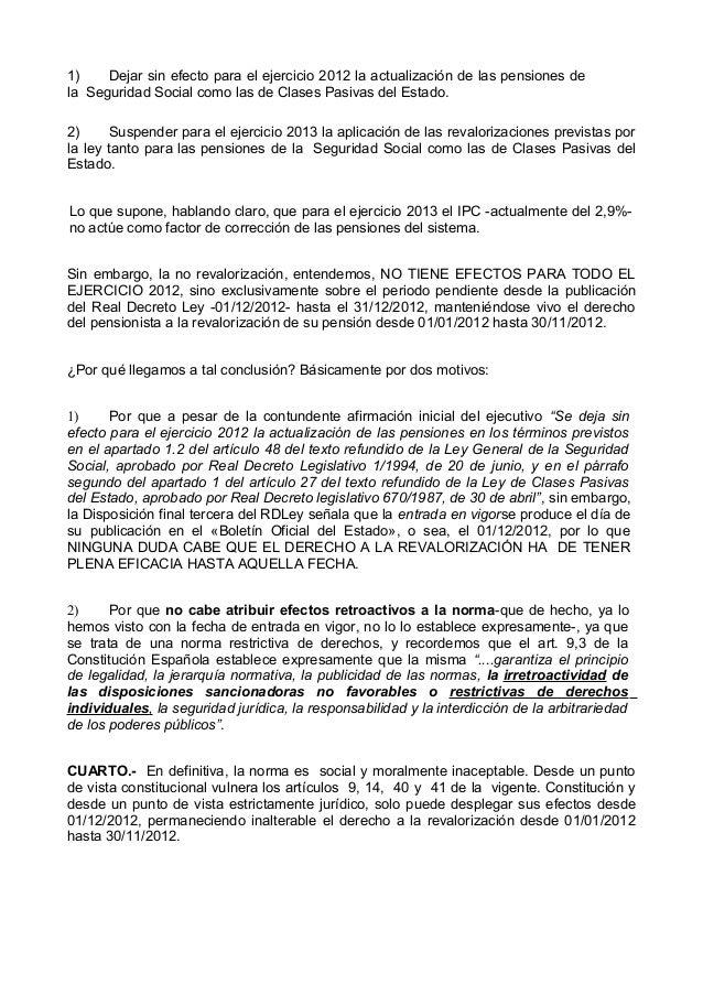 Reclamacion pensiones - Actualizacion pension alimentos ipc ...