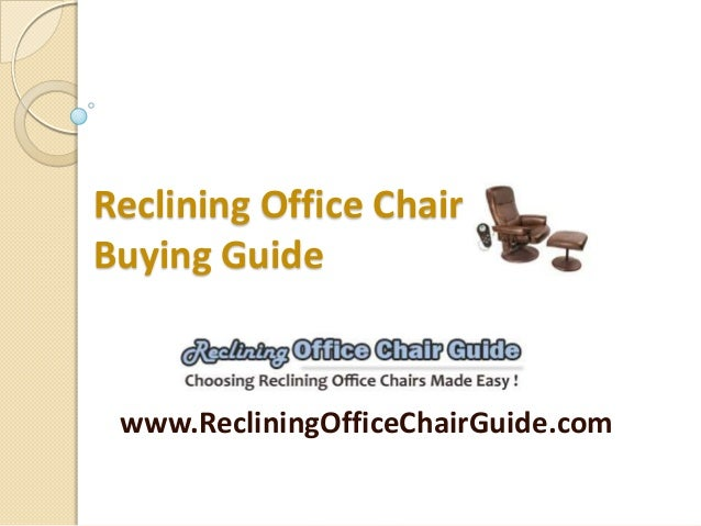 Office chair buying guide Gaming Chairs Reclining Office Chair Buying Guide Www Gentlemans Gazette Reclining Office Chair
