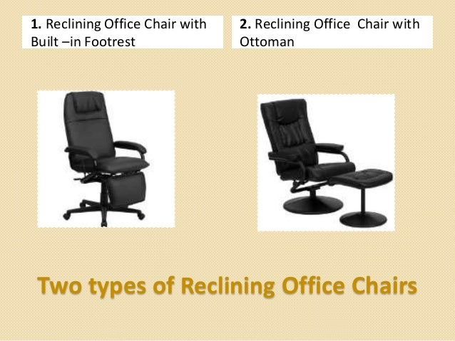 ... 4. 1. Reclining Office Chair with Built –in Footrest ... - Reclining Office Chair