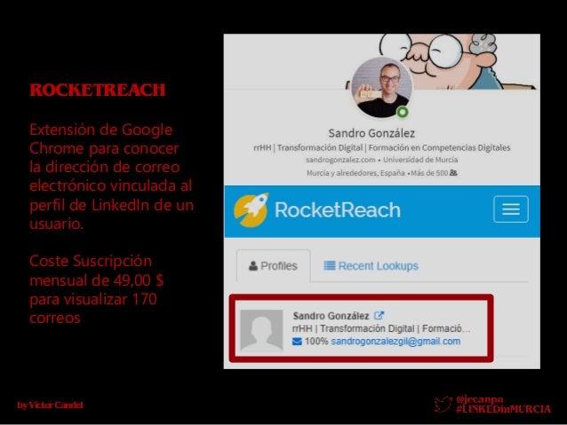 byV�ctorCandel PROPHET Es una aplicaci�n web con extensi�n en Google Chrome para conocer la direcci�n de correo electr�nic...