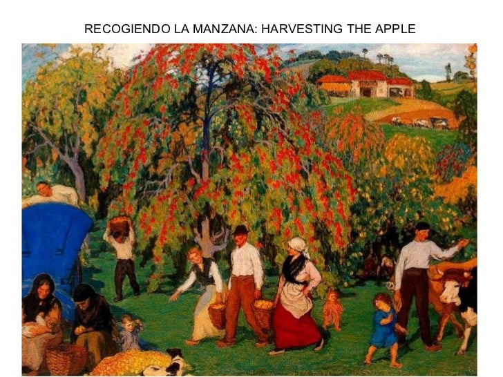 RECOGIENDO LA MANZANA: HARVESTING THE APPLE