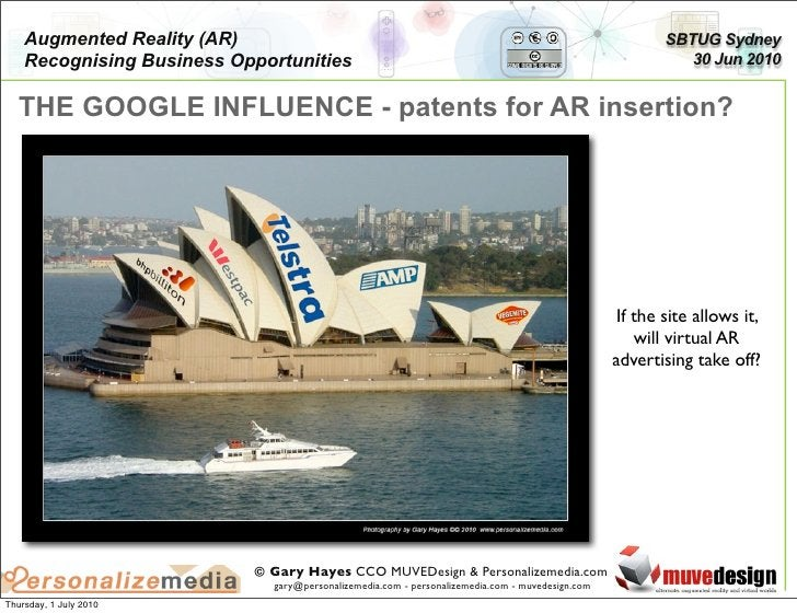 Augmented Reality (AR)                                                                               SBTUG Sydney     Reco...