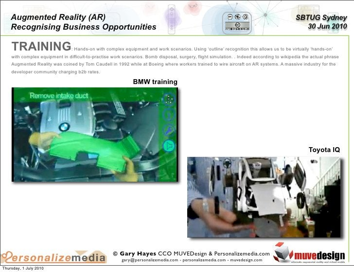 Augmented Reality (AR)                                                                                                    ...