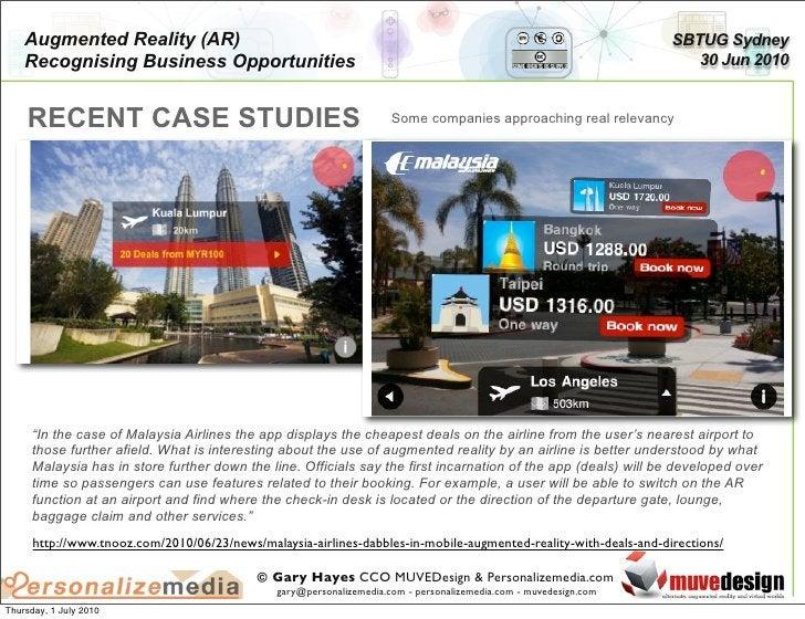 Augmented Reality (AR)                                                                                         SBTUG Sydne...