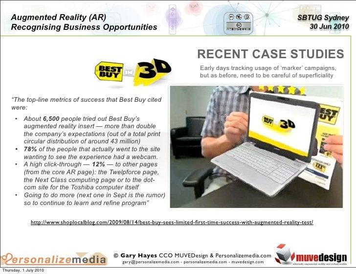 Augmented Reality (AR)                                                                                              SBTUG ...