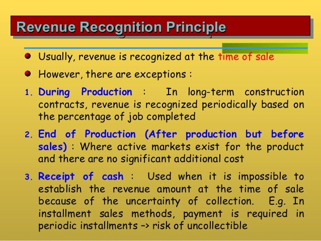 revenue recognition problems in the communications Revenue recognition on fasb and iasb 5/18/09 revenue recognition problems in the communications million as a result of revenue recognition problems.