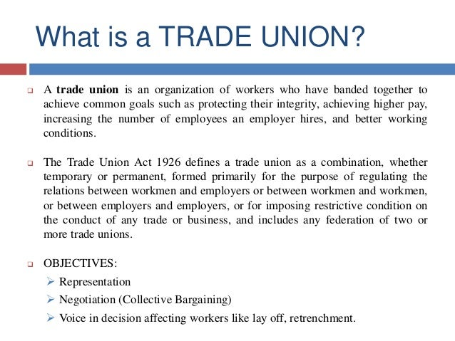 collective bargaining creating better working conditions