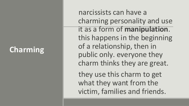 Recognize the narcissist in your life
