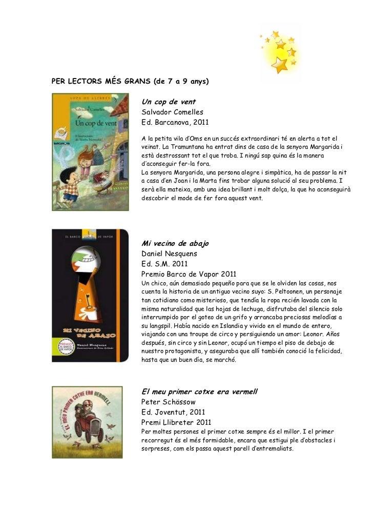 Recomanacions llibres Nadal 2011 Slide 3