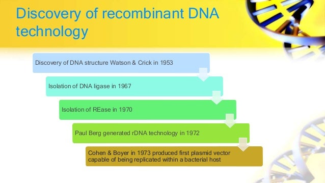 Applications of recombinant dna technology