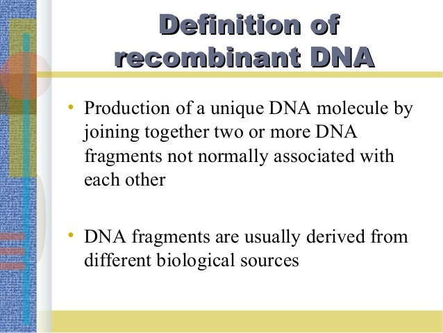 uses of genetic recombination Recombination in rna viruses involves the exchange of genetic mutants was used to determine recombination genetic recombination.