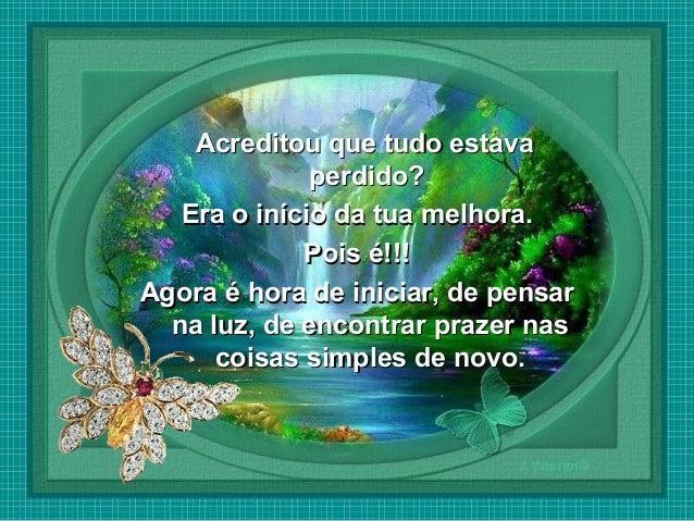 Deus Quer Te Dar Uma Nova Chance Para Recomeçar: Recomeçar... (Carlos Drummond De Andrade