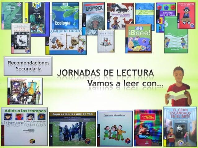 Recomendación libros secundaria