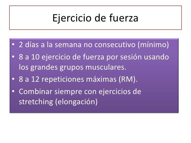 Recomendaciones para ejercicio fisico en adultos for Ejercicio fisico