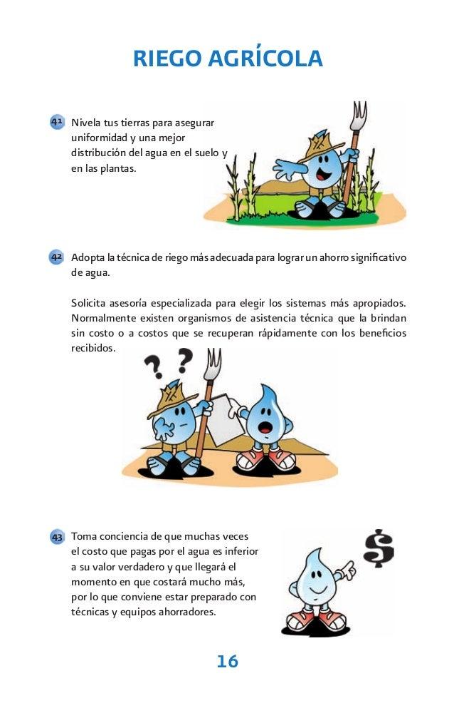 Recomendaciones para ahorrar agua - Tecnicas de ahorro ...