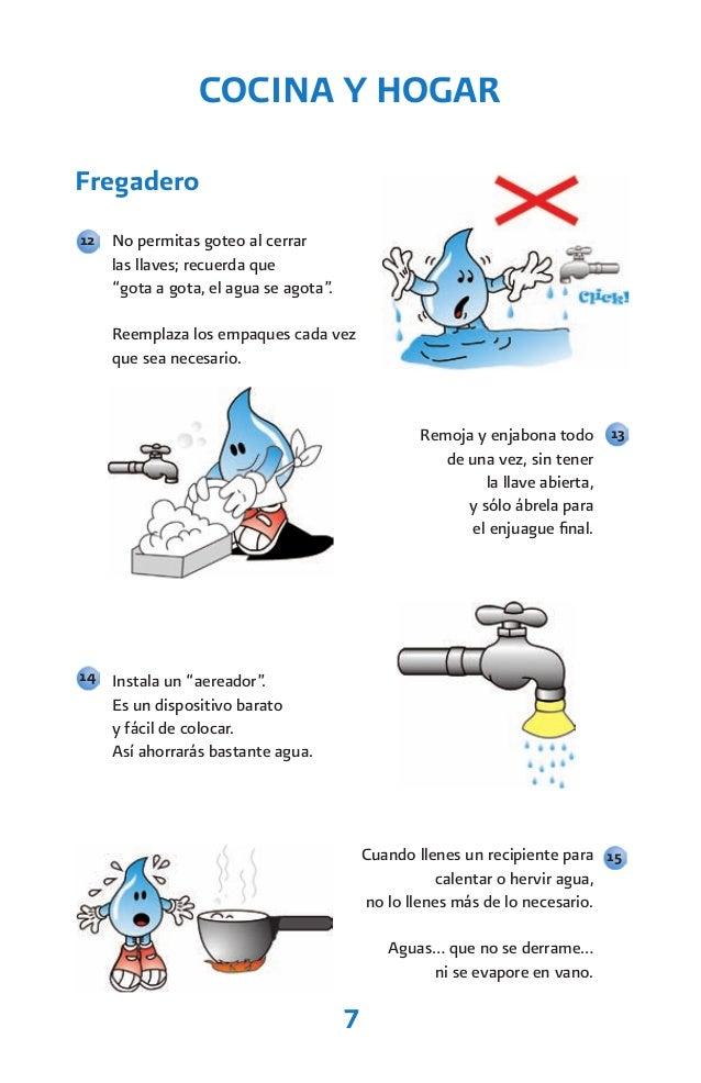Recomendaciones para ahorrar agua for Cosas para ahorrar agua