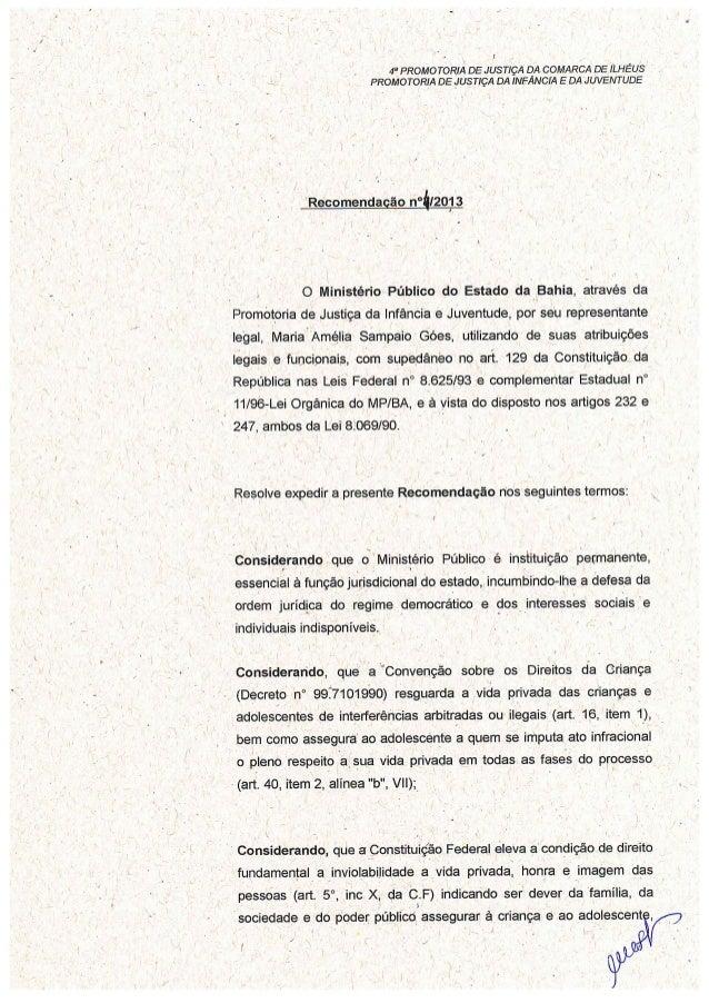 Recomendação 004 2013-4ªpj-ios