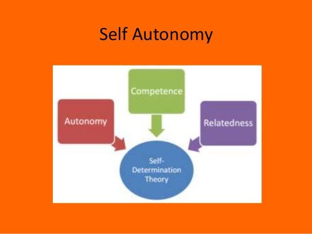 Self Autonomy