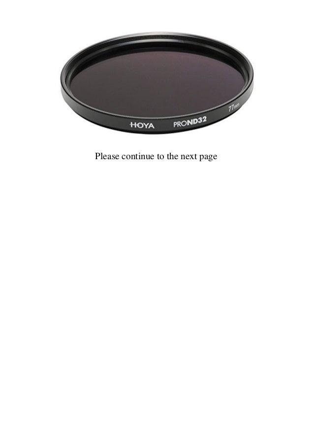 black Hoya Pro ND 2/filter
