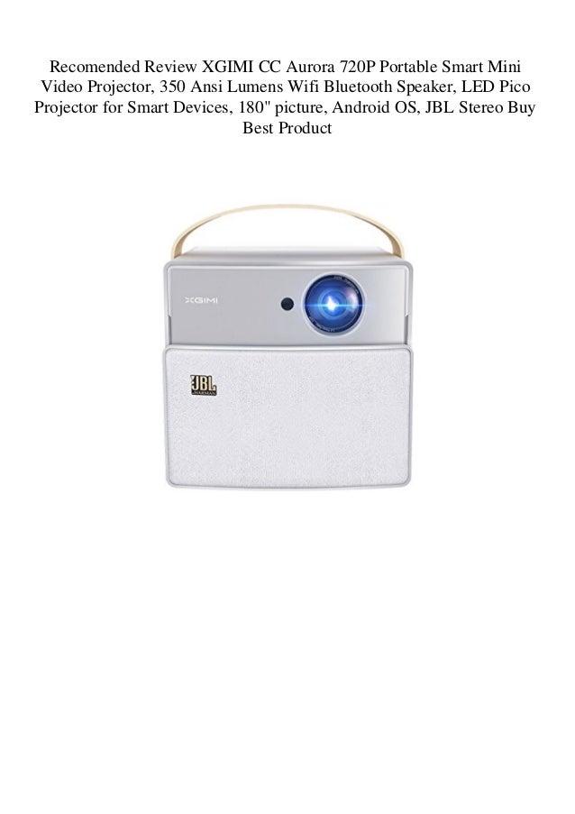 Recomended Review XGIMI CC Aurora 720P Portable Smart Mini Video Proj…