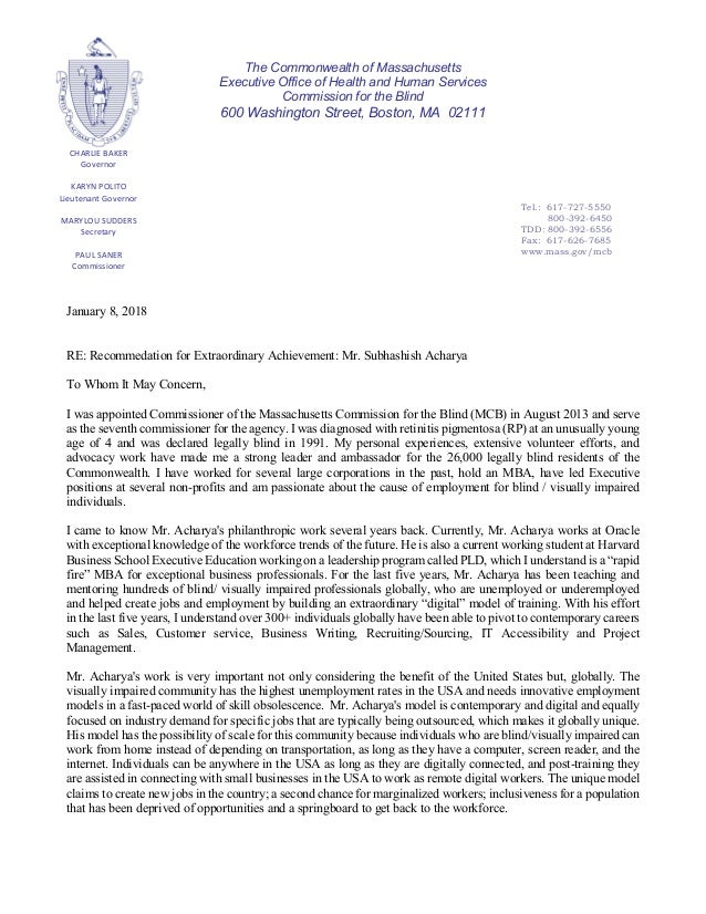 CHARLIE BAKER Governor KARYN POLITO Lieutenant Governor MARYLOU SUDDERS Secretary PAUL SANER Commissioner Tel.: 617-727-55...