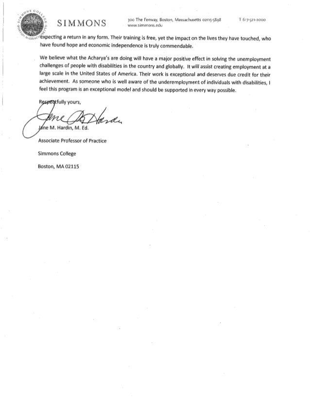 Simmons College : Jane Harding : Project Starfish Slide 2