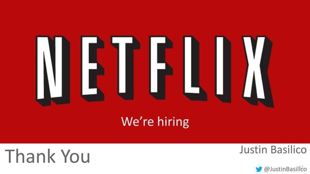 We're hiring  Thank You  Justin Basilico 42 @JustinBasilico