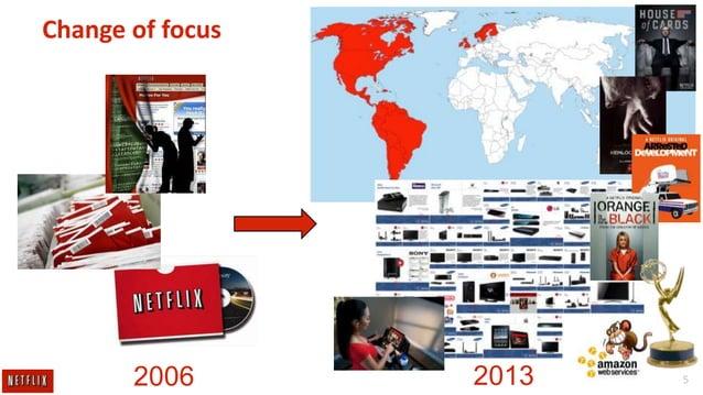 Change of focus  2006  2013  5