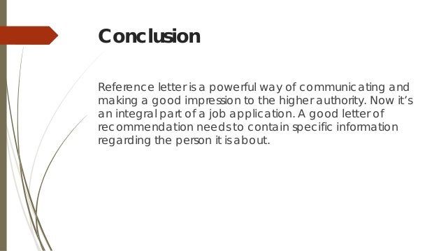 letter of recommendation conclusion   Nadi.palmex.co