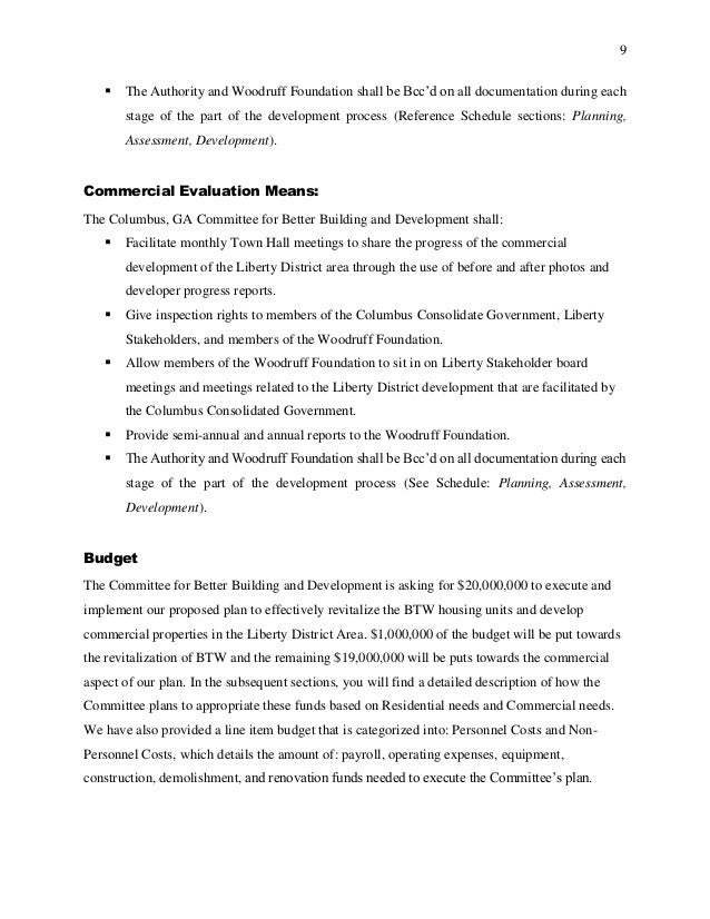 Recommendation Report And Proposal Project