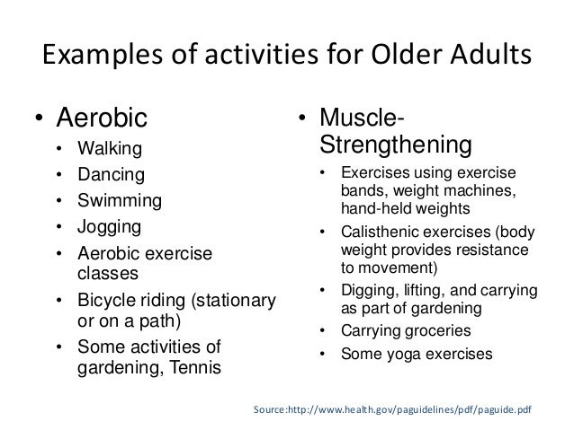 recommendations for physical activity in india