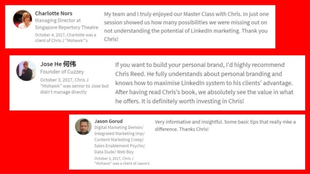 """"""" Chris conducted a workshop presentation in Melbourne, I found Chris a true master/ subject matter expert. He not only pr..."""