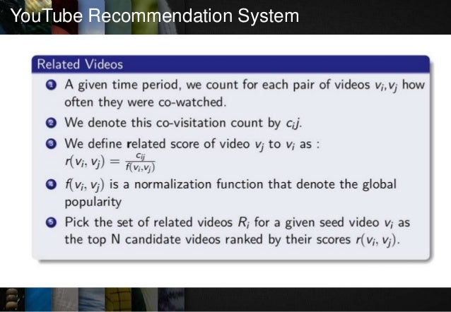 YouTube Recommendation System