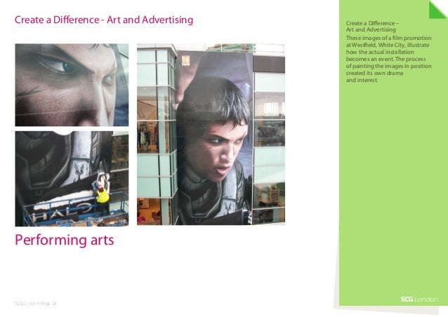 Create a Difference - Art and Advertising   Create a Difference –                                            Art and Adver...