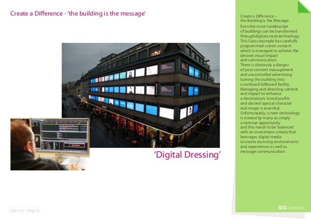 Create a Difference - 'the building is the message'                        Create a Difference –                          ...