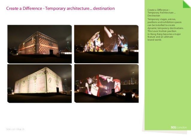 Create a Difference - Temporary architecture... destination   Create a Difference –                                       ...