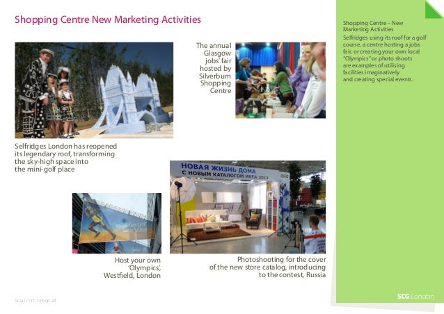 Shopping Centre New Marketing Activities                                                       Shopping Centre – New      ...