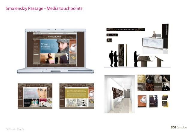 Smolenskiy Passage - Media touchpointsSCG London Page 34