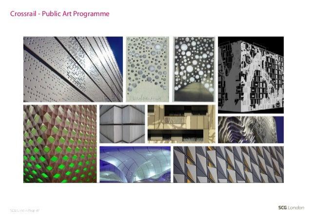 Crossrail - Public Art ProgrammeSCG London Page 47