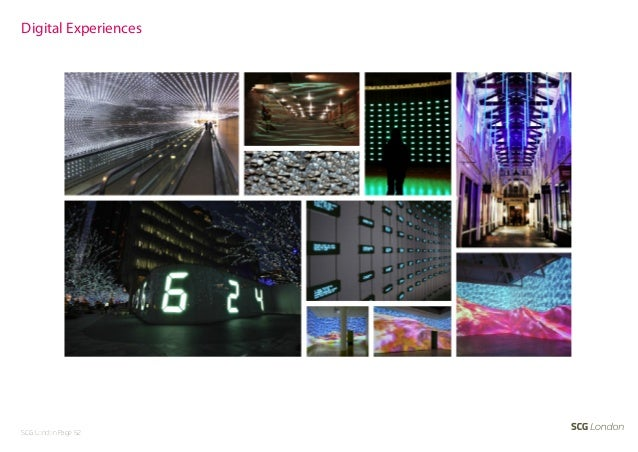 Digital ExperiencesSCG London Page 52