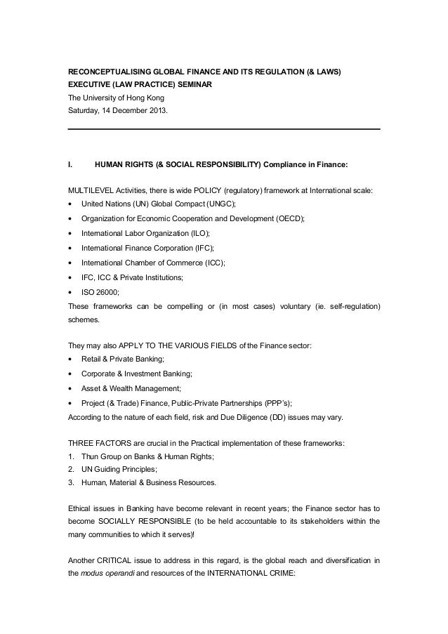 "financial globalization and regulation Financial globalization and regulation introduction: in the paper named ""financial globalization and regulation"" philip arestis and santonu basu defined a process."