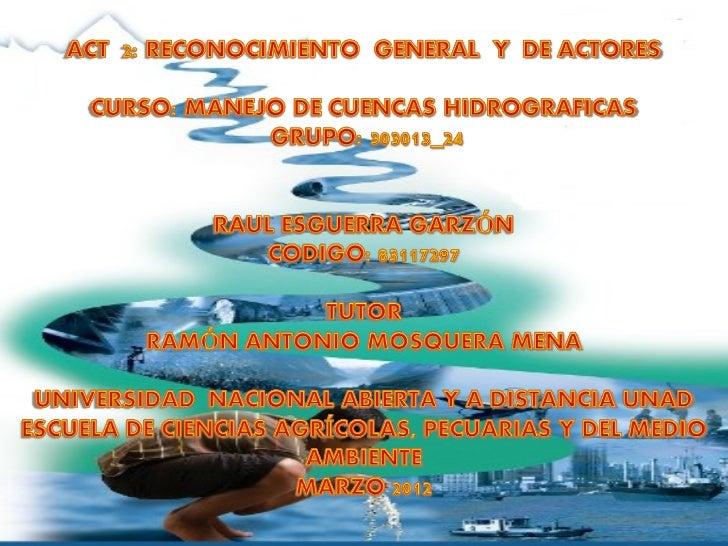 Los planes departamentales de agua ysaneamiento básico son un conjunto deestrategias de orden fiscal, presupuestal,polític...